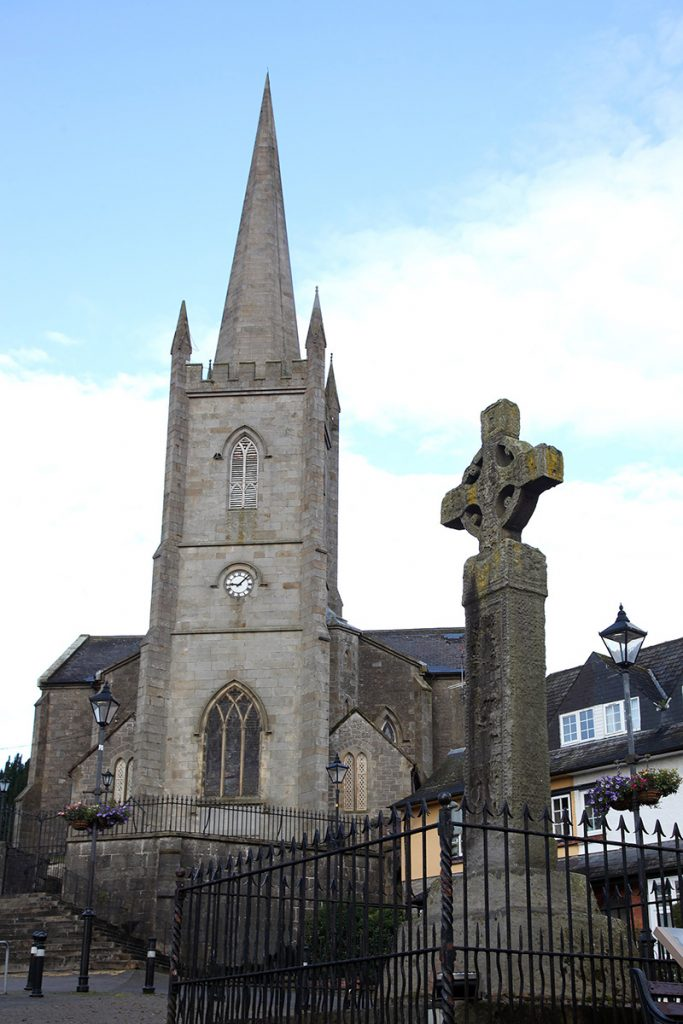 Church and High Cross, Clones
