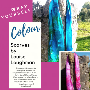 Scarves by Louise Loughman