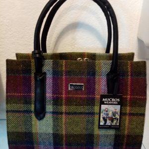 Tweed bag by Mucross Weavers